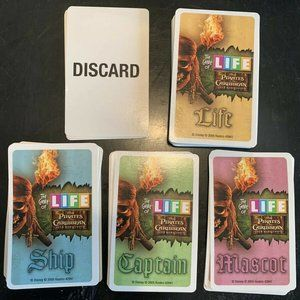 Game Life Pirates Of Caribbean Replacement Cards